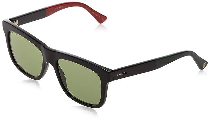 Gucci GG0101S 002 Gafas de Sol, Negro (Black/Grey), 53 para ...
