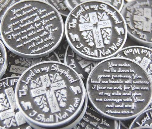 Set of 10 The Lord is My Shepherd