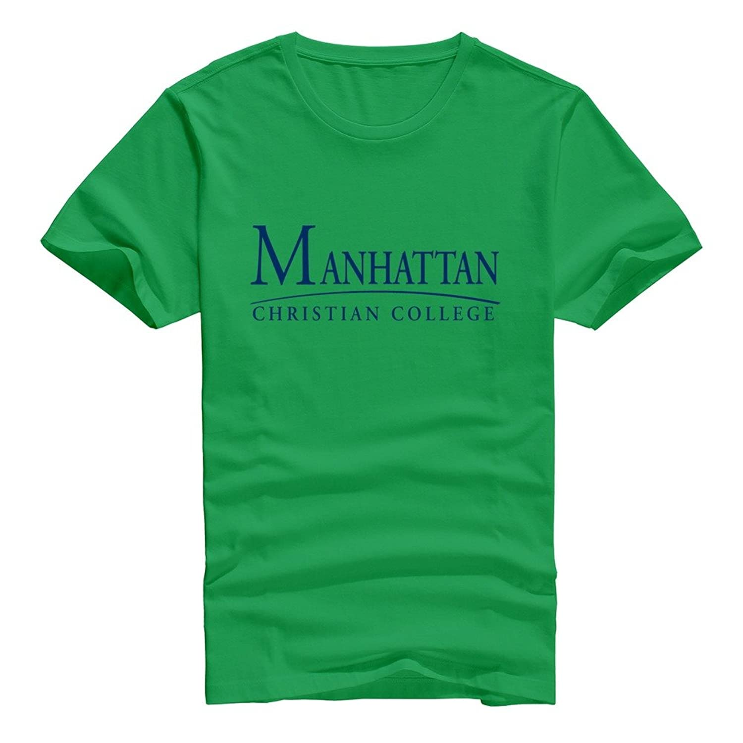 VAVD Masculine Manhattan Christian College 100% Cotton T Shirt