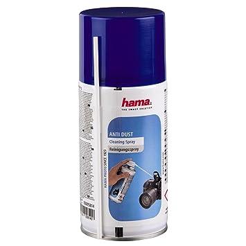 """Hama Compressed-Air Spray""""AntiDust"""" Líquido para limpieza de equipos CDs/DVDs"""
