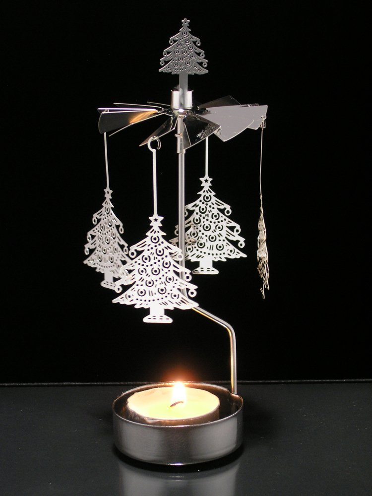 """""""Christmas Tree Spinning Candle Holder"""""""