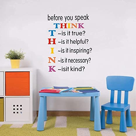 g2551 Details about  /Vinyl Wall Decal Motivational Quote Typographic Words Home Idea Stickers