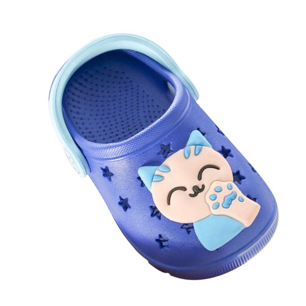 SITAILE Girls Boys Garden Clogs Shoes Sport Slides Sandals Kids Beach Walking Slipper with Backstrap