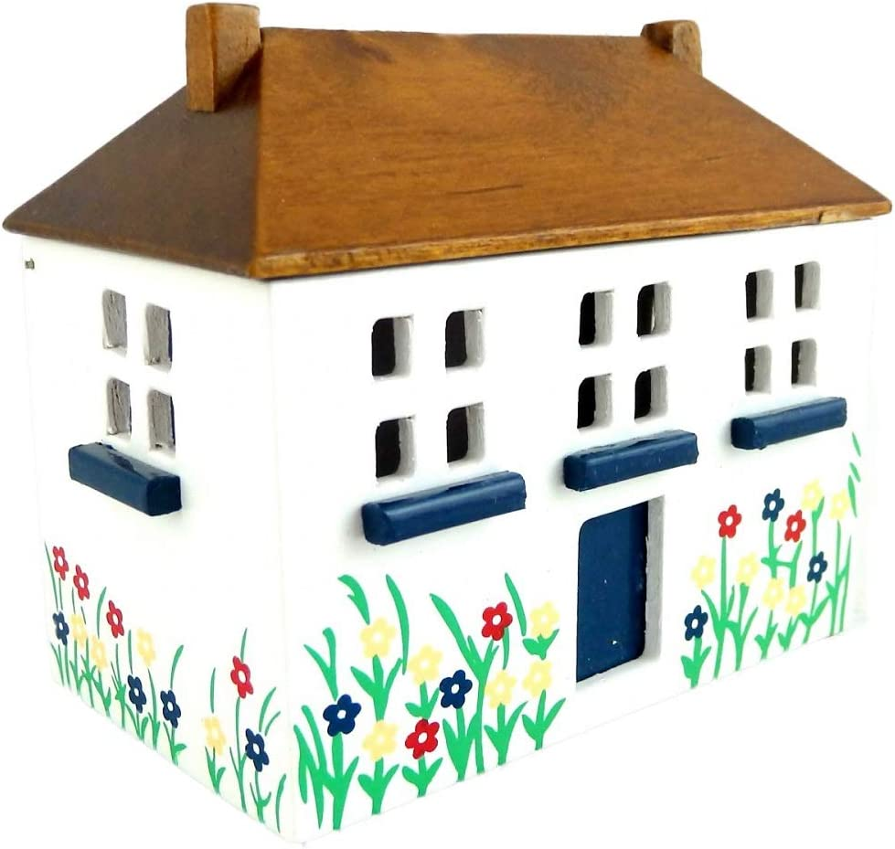 Modern library wood scale 1:12 for doll houses