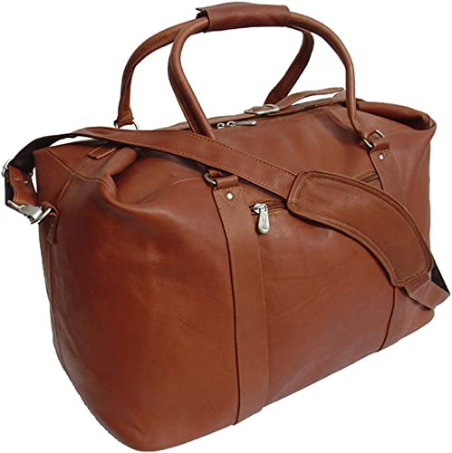 Piel Leather European Carry-On, Saddle, One Size