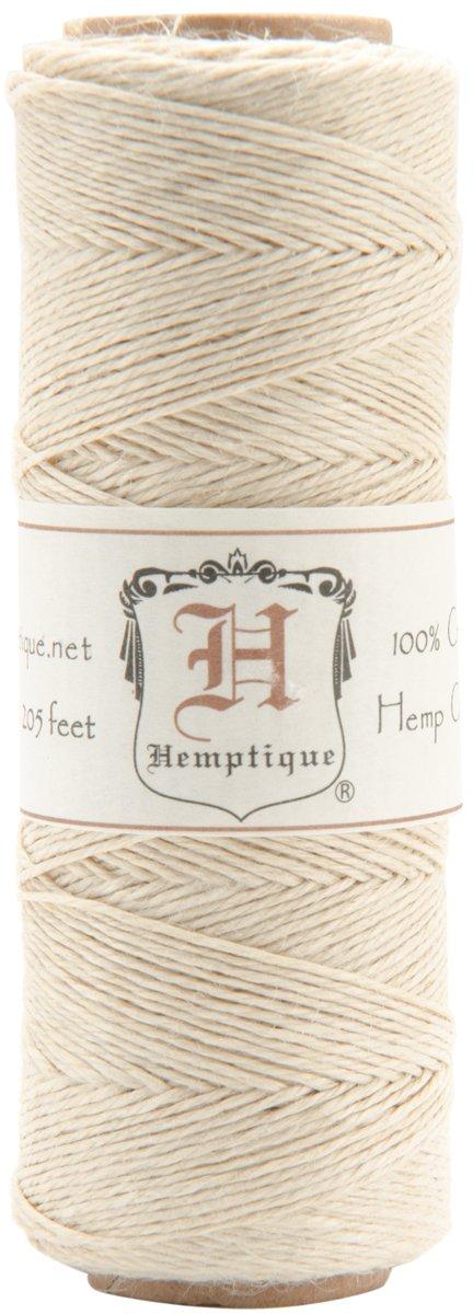 Hemptique HS10NA Hemp Cord Spool 10-Pound//205-Feet Natural