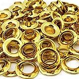 C.S. Osborne Brass Grommets & Spur Washers #G2-0 (Size 0) 144 Sets