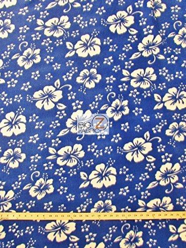Hibiscus Print Fabric - 1