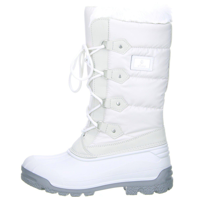Vista Canada Polar Damen Winterstiefel Snowboots Weiß