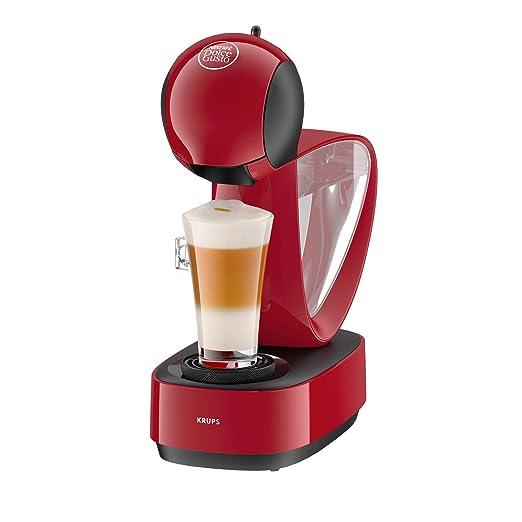 Krups Dolce Gusto Infinissima KP1705 - Cafetera de cápsulas, 15 bares de presión, color rojo