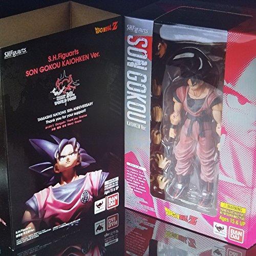Son Goku (Kaiohken Ver.) [Tamashii Nations World Tour Exclusive]: ~5.5