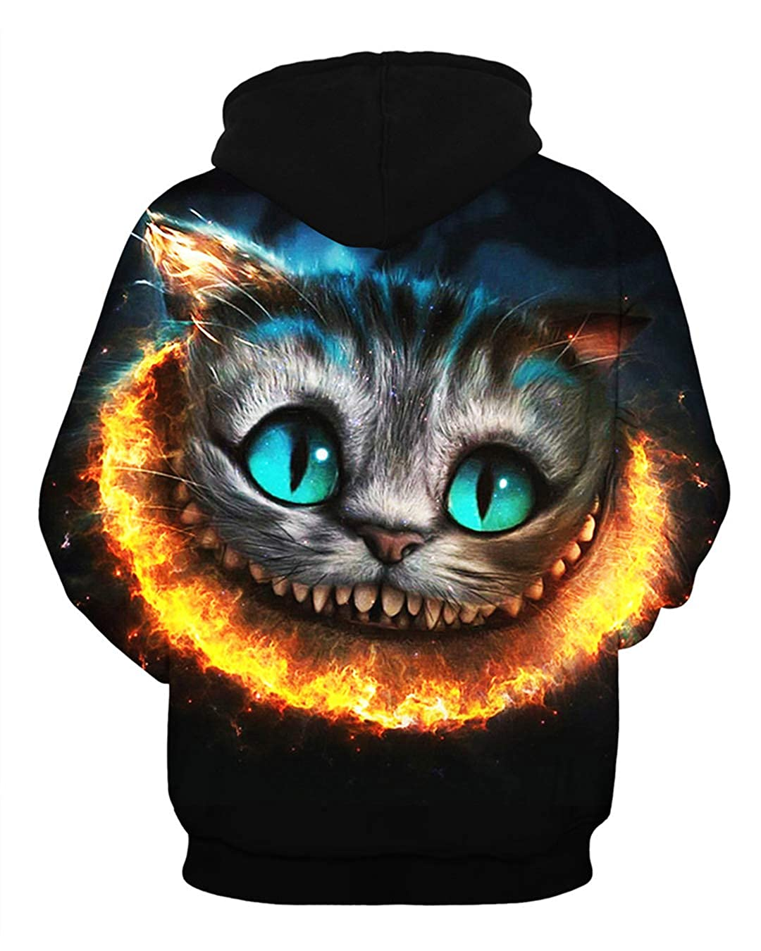 Amazon.com: 3D Printed Cat Hoodies Women Hoody Men Hooded Jumper Coats Tracksuits Unisex Pullovers Streetwear Sweatshirts Hoodie: Clothing