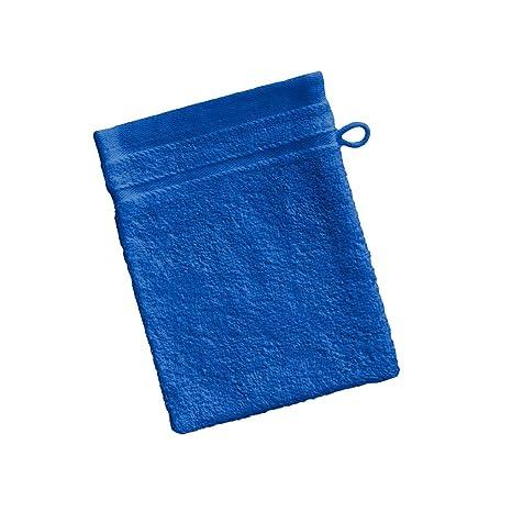 Barceló Hogar 05090020012 Manopla para baño, rizo americano, algodón 100%, azulón,