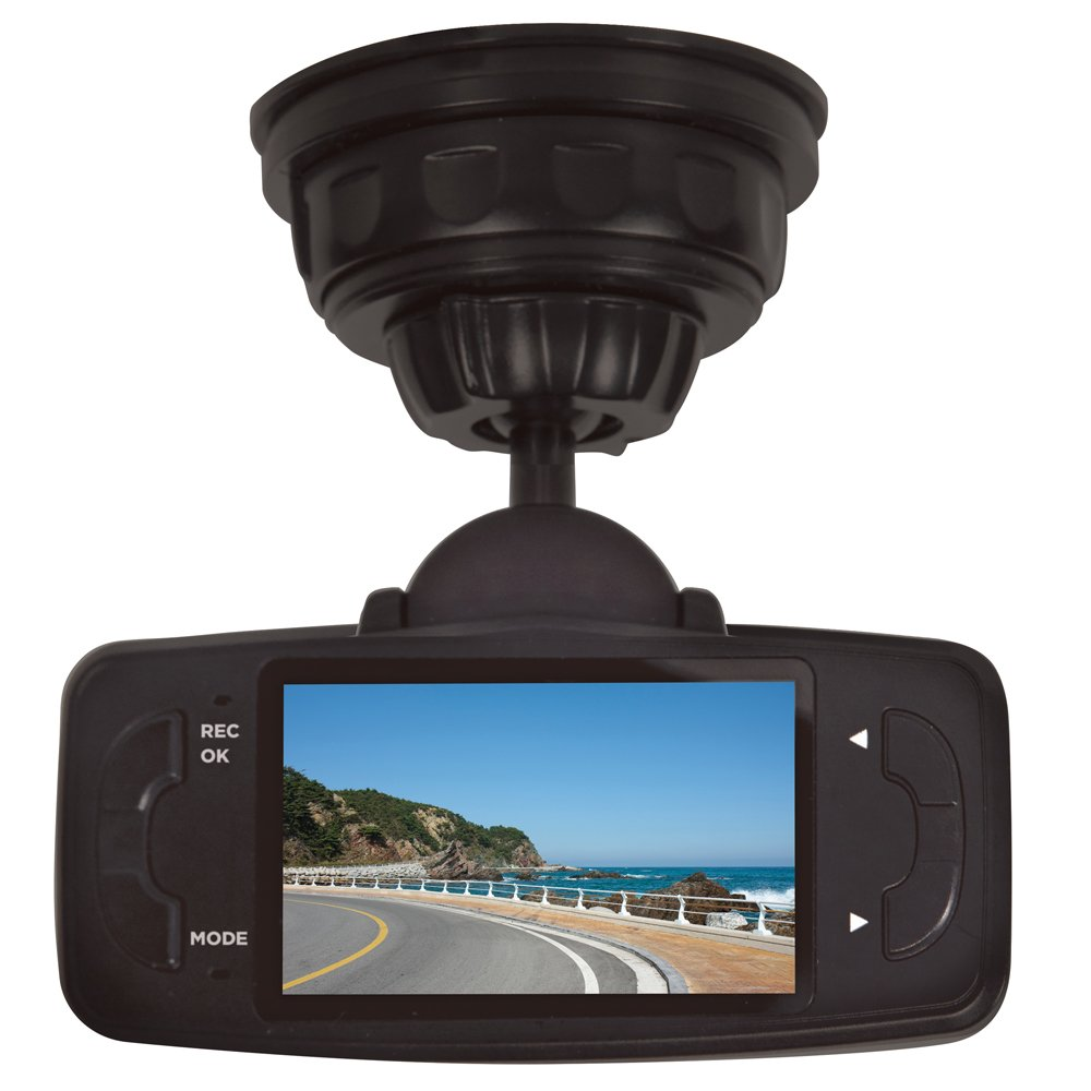 Uniden DC3, 1080p Full HD Dash Cam, 2.7'' LCD, Geo-tagging GPS, G-sensor with collision detection, loop recording, 170-degree wide angle lens, 8GB micro SD card included