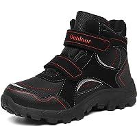 Zapatos de Senderismo Niño Zapatos de Botas de Invierno para Niños Botas de Senderismo Cálido Forro Botas de Montaña…