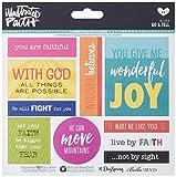 Bella Blvd 1253 Illustrated Faith Basics Stickers, 6