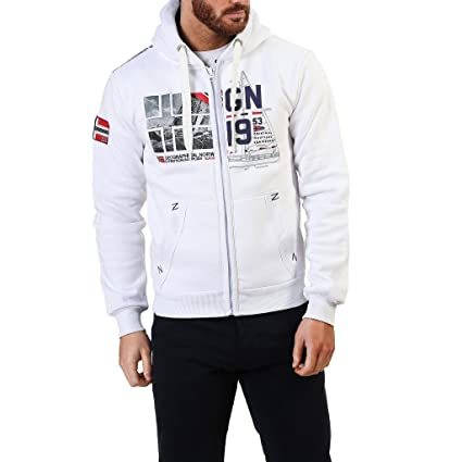 Geographical Norway Falopark_man Sudaderas Hombre Blanco M