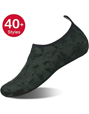 Womens and Mens Kids Water Shoes Barefoot Quick-Dry Aqua Socks for Beach  Swim Surf cb11854d1a