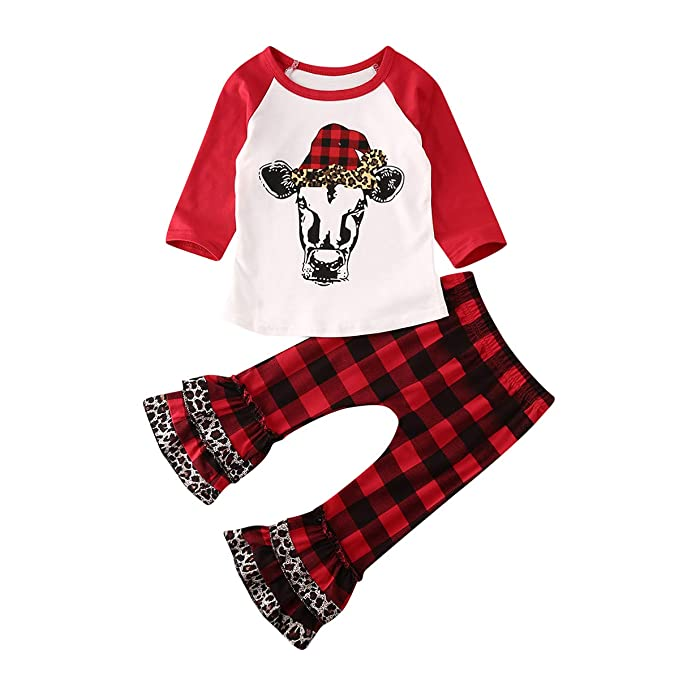 Amazon.com: Conjunto de ropa de Acción de Gracias para niñas ...