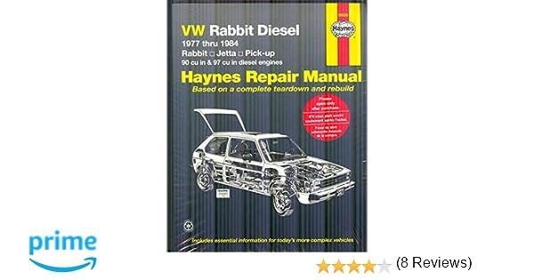 Vw rabbit diesel 1977 thru 1984 haynes manuals haynes vw rabbit diesel 1977 thru 1984 haynes manuals haynes 9780856969935 amazon books fandeluxe Choice Image
