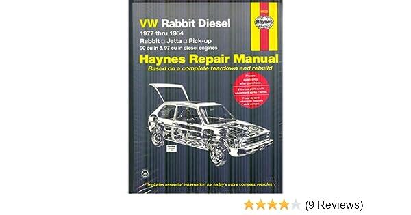 Vw rabbit diesel 1977 thru 1984 haynes manuals haynes vw rabbit diesel 1977 thru 1984 haynes manuals haynes 9780856969935 amazon books fandeluxe Gallery