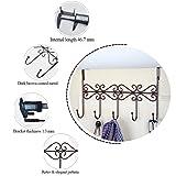 obmwang Over The Door 5 Hook Rack - Decorative