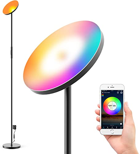 Floor Lamp Super Bright RGBW Smart WiFi LED Floor Lamp