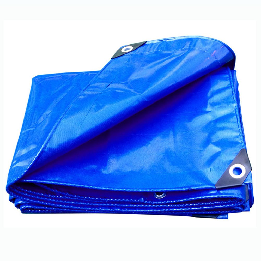 JIANFEI オーニング 防水 耐寒性日焼け止め耐磨耗性PVC、厚さ0.35mmカスタマイズ可能 (色 : Blue, サイズ さいず : 2.8x5.8m) B07FTJ66Z6 2.8x5.8m Blue Blue 2.8x5.8m