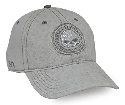 c7df07e1 Harley-Davidson Women's Willie G Skull Stone Washed Baseball Cap ...