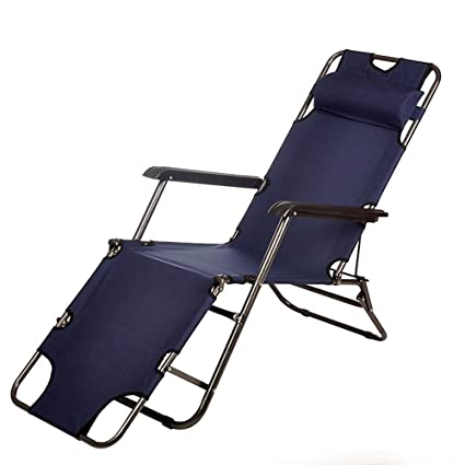 Amazon.com: Feifei - Tumbona plegable con terraza reclinable ...