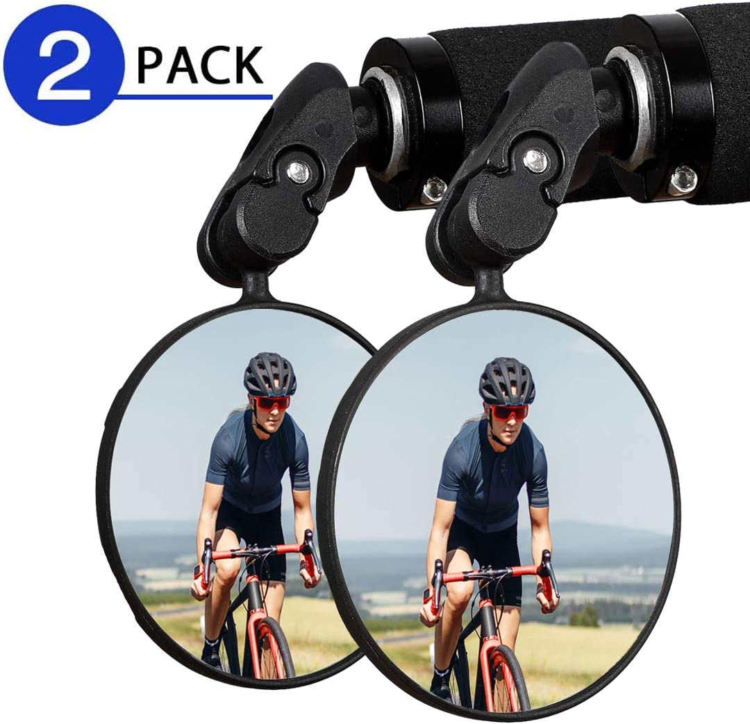 Adjustable Rotatable Handlebar Rearview Mirror Rear View Bike Bicycle Cycling