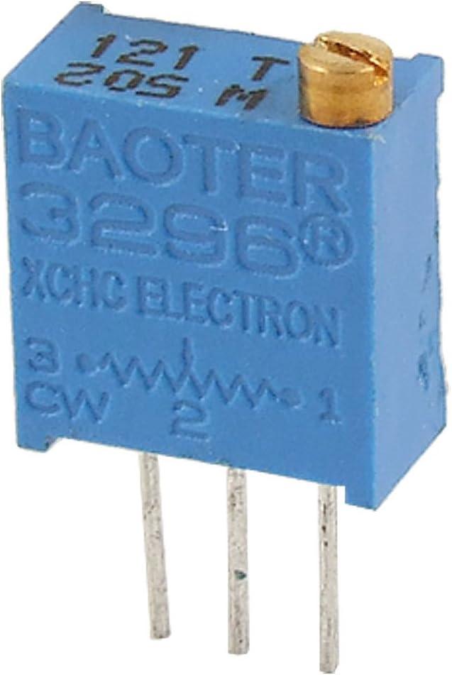 50 pcs 3296W-202 2K ohm 3296 Trim Pot Trimmer Potentiometer HM New