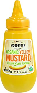 product image for Woodstock Farms Organic Yellow Mustard, 8-Ounce Bottles (Pack of 12)