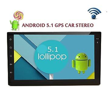 Eincar 2din Autoradio 7 pulgadas Android 5.1 tableta del coche Universal Stereo Autoradio la radio de