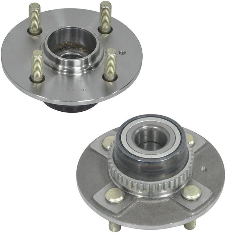 Pair 2 New Rear Wheel Hub /& Bearing Assemblies SET Fit 00-05 Accent 4 Lug