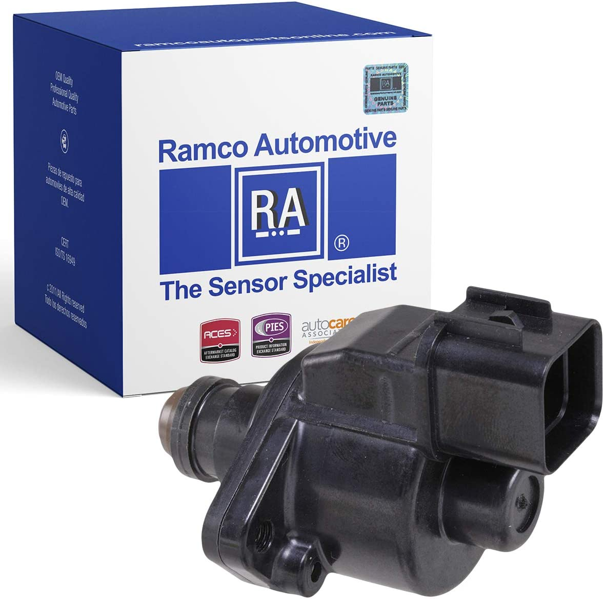 Compatible with Wells AC4081 Standard Motor Products AC510 Ramco Automotive RA-IAC1017 Fuel Injection Idle Air Control Valve