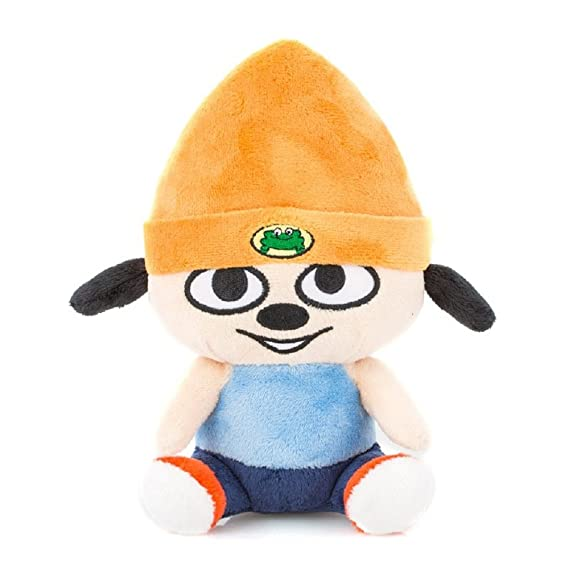 Amazon.com: PaRappa Classic Stubbins Plush PaRappa the Rapper: Toys & Games