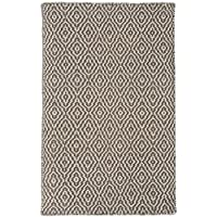 Savannah Taupe/Grey Hand-Woven Eco Cotton Washable Rug Runner
