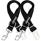 Vastar 2 Packs Adjustable Pet Dog Cat Car Seat Belt Safety Leads Vehicle Seatbelt Harness