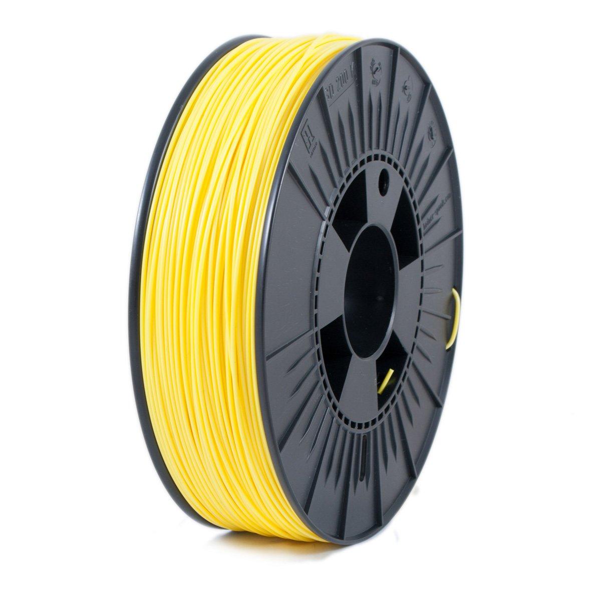 Ice Filaments ICEFIL1ABS090 Filamento ABS, 1,75 mm, 0,75 kg, Amarillo Claro