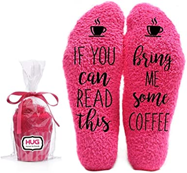 Funny Socks for Mom Get it Yourself Off Duty Socks for Women Cozy Socks Womens Stocking Stuffers for Women If You Can Read This Socks