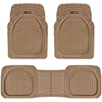 $26 » Motor Trend MT-923-BG Tan Beige Floor Mats