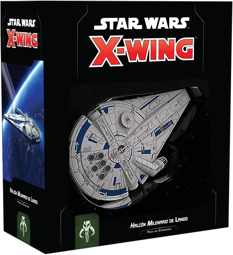 Fantasy Flight Games- SW X-Wing 2.0 - Halcón Milenario de Lando - Español, Multicolor (SWZ04ES): Amazon.es: Juguetes y juegos