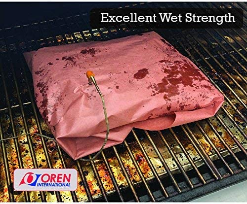 rose Butcher Butcher Paper 40/m BBQ papier Kraft papier