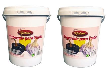 Galant - Preparado para paella - Pack de 2 x 1000 g: Amazon.es: Alimentación y bebidas