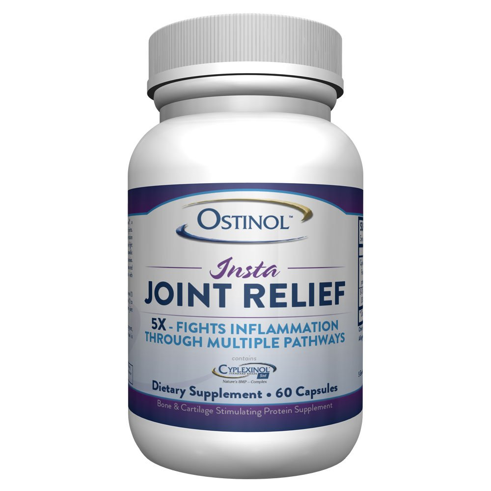 ZyCal Ostinol Insta-Joint Relief, 60 Caps by ZyCal Bioceuticals Healthcare Co., Inc.