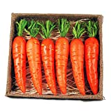 Box of 6 Decorative Easter Carrots