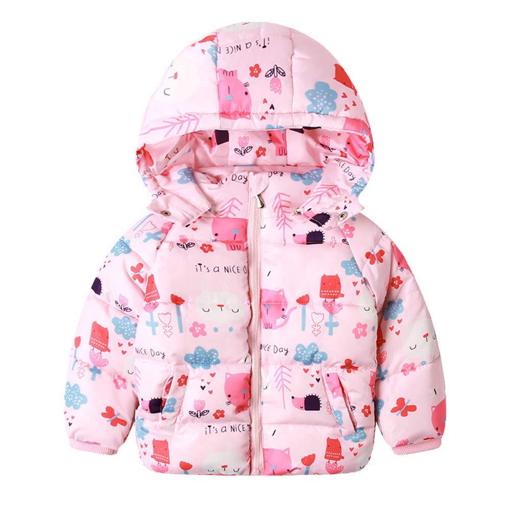 SXSHUN Kinder M/ädchen Jungen Winterjacke Daunenjacke Daunenmantel Baby Warm Verdickte Winter Outwear Oberbekleidung Kleidung Steppjacke