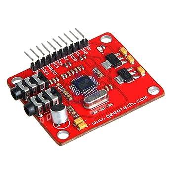 Amazon.com: VS1053 VS1053B - Módulo MP3 para tarjeta de ...