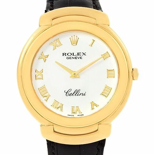Rolex Cellini cuarzo mujer reloj 6623 (Certificado) de segunda mano: Rolex: Amazon.es: Relojes